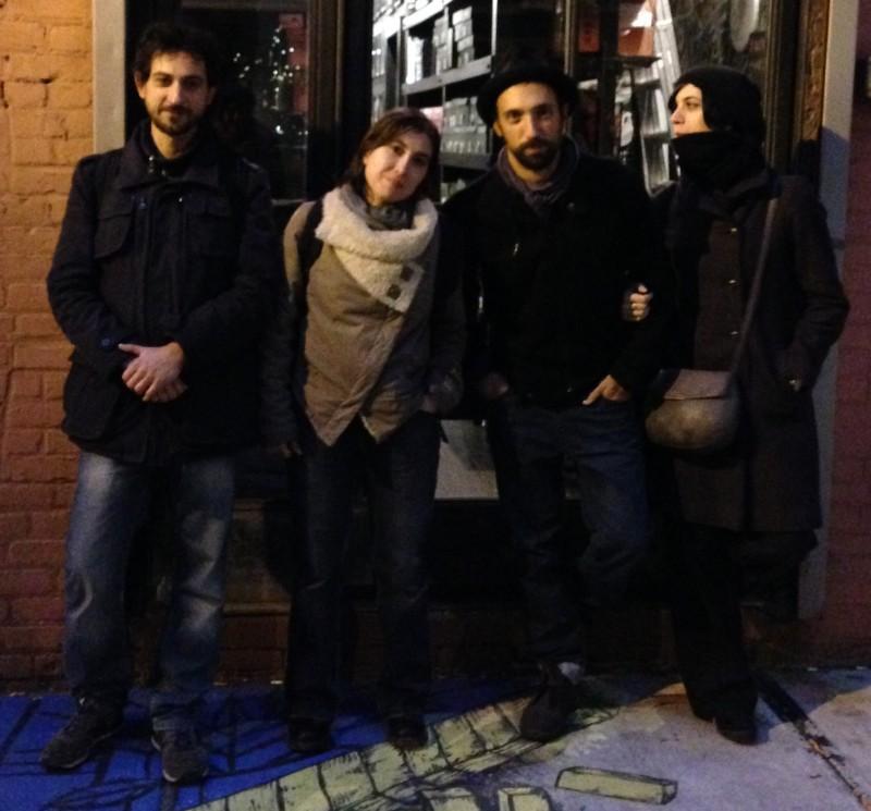 2013-11-05, alle 17.02.; il retro del fu CBGB's-OMFUG, 315 di Bowery Street a Manhattan, NYC.