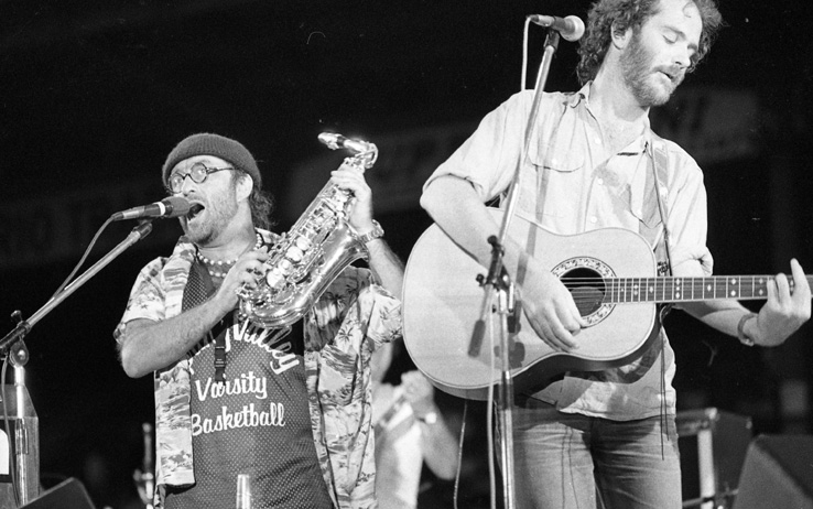 Dalle & De Gregori durante Banana Republic, 1979