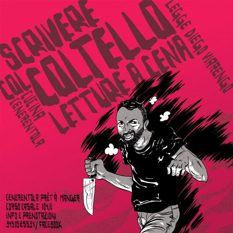 Scrivere col coltello - letture a cena - Oscar Carenzi©