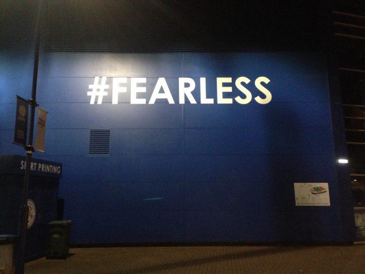 Muro, King Power Stadium, Leicester