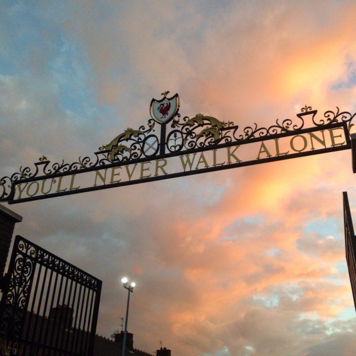 Cancello, Anfield Road, Liverpool